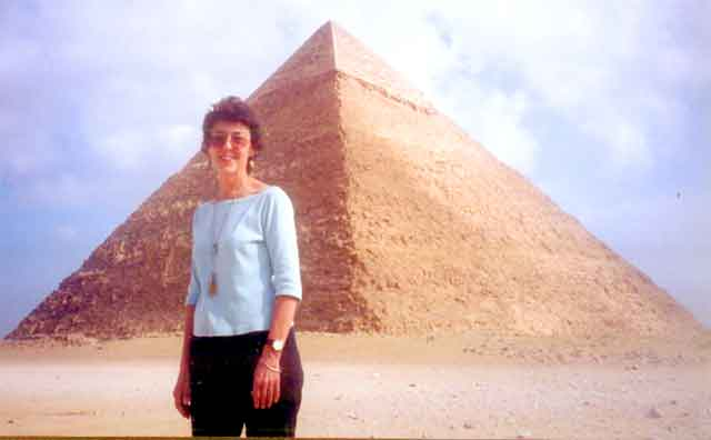 Jan Stansel in Egypt